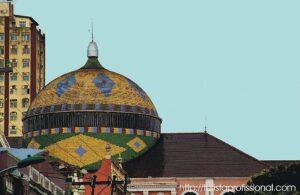 Manaus Cpula do teatro 2 300x195 - Manaus: o que fazer numa cidade encravada na Amazônia?