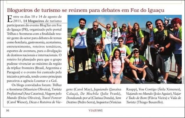 Revista Viaje Mais - setembro de 2011