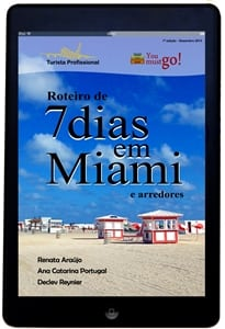 Roteiro Miami no Tablet