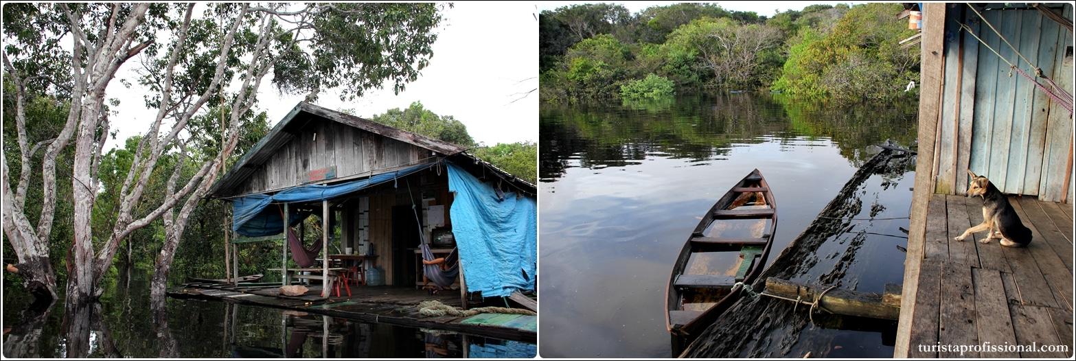 Selva Amazônica 2 - Turismo antropológico: dormir na casa de um ribeirinho em plena floresta amazônica