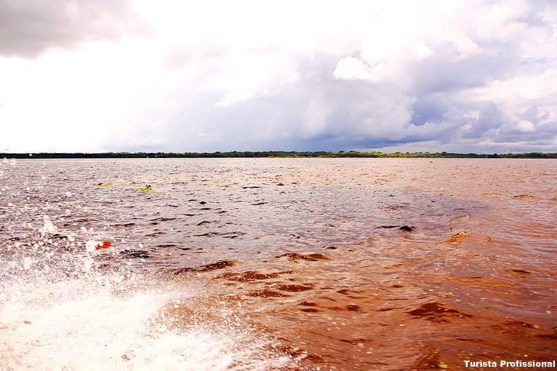 encontro das aguas - O que fazer em Manaus