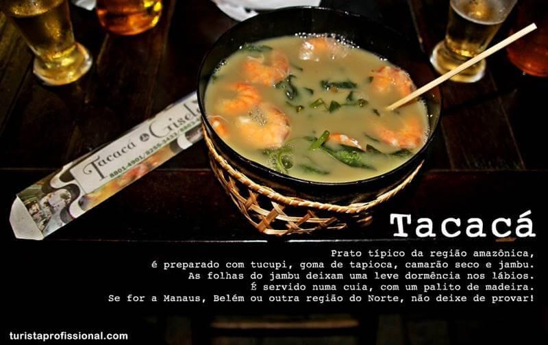 Tacaca comidaa da amazonia - Bebidas e comidas típicas da Amazônia