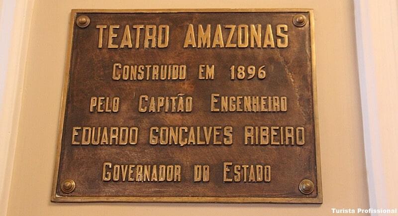 construção do Teatro Amazonas
