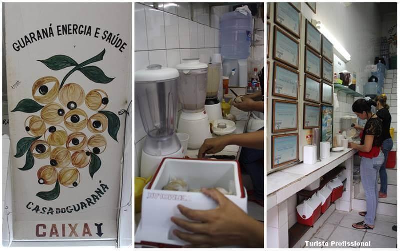 casa do guarana manaus - Bebidas e comidas típicas da Amazônia