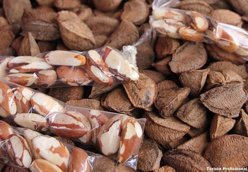 castanha do para - Bebidas e comidas típicas da Amazônia