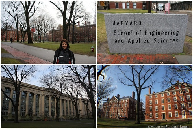 Harvard - Visitando a universidade de Harvard