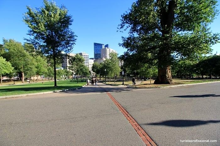 Freedon Trail em Boston