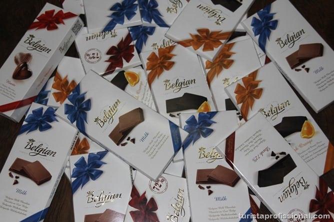 Chocolate Belga 18 - Chocolates belgas, fama verdadeira