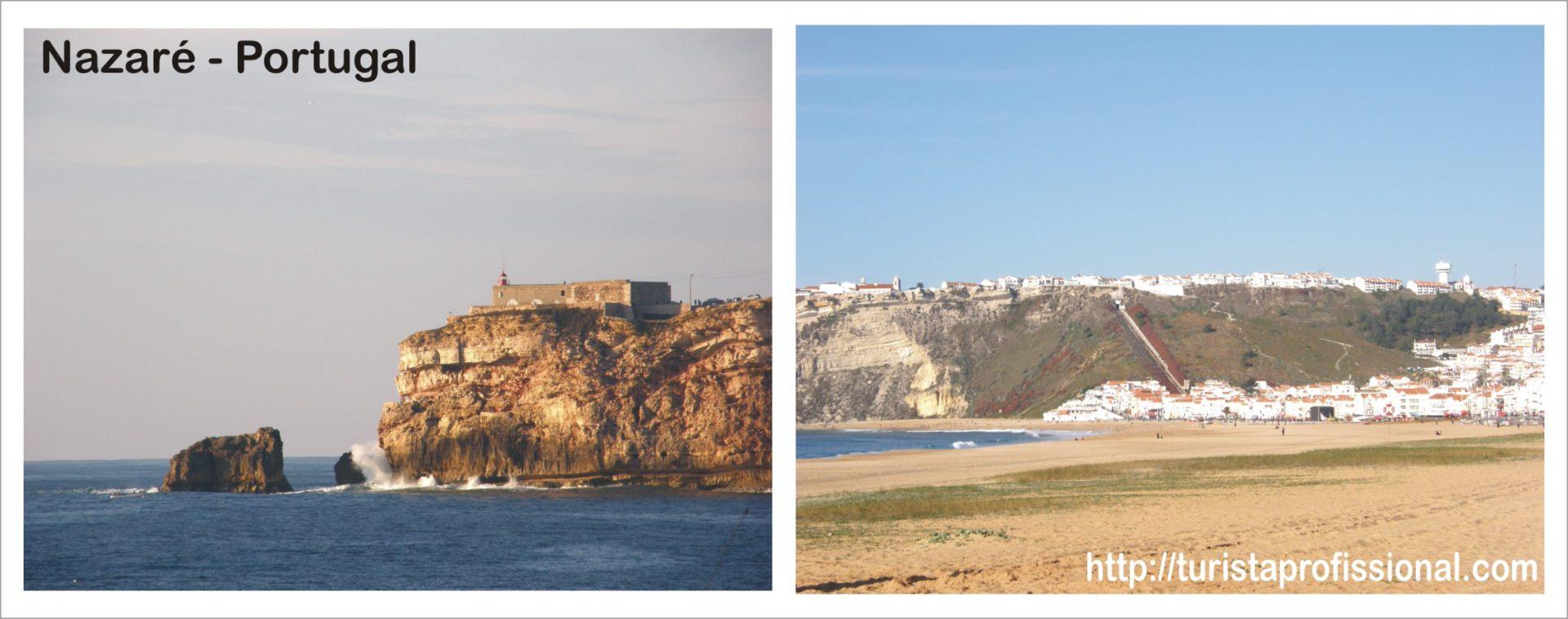 Nazaré Portugal Forte e Funicular - Nazaré, Portugal: como chegar e o que fazer