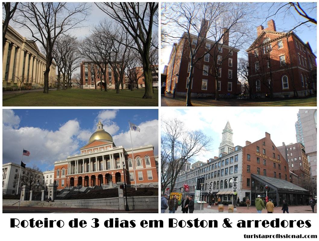 Roteiro 3 dias Boston 1 - Roteiro de 3 dias em Boston e arredores