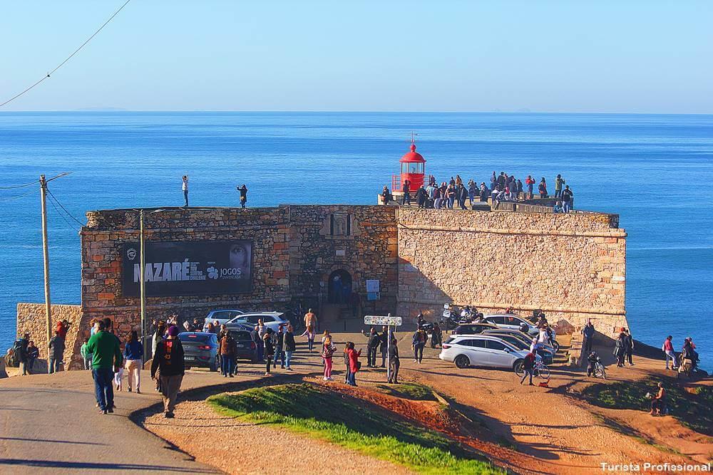 forte de nazare ondas gigantes - Nazaré, Portugal: como chegar e o que fazer