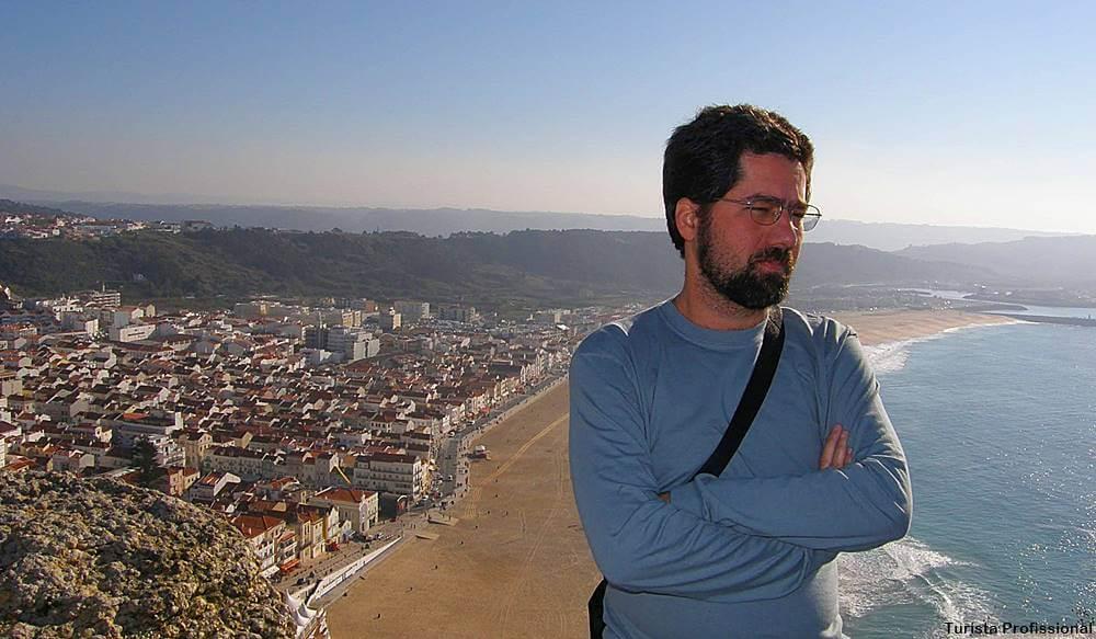 turista profissional em nazare portugal - Nazaré, Portugal: como chegar e o que fazer