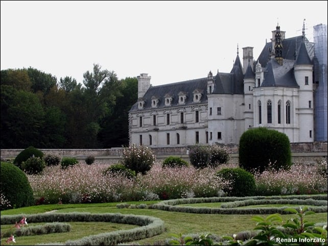 CastelodeChenonceau - Como visitar o Vale do Loire usando o transporte público?