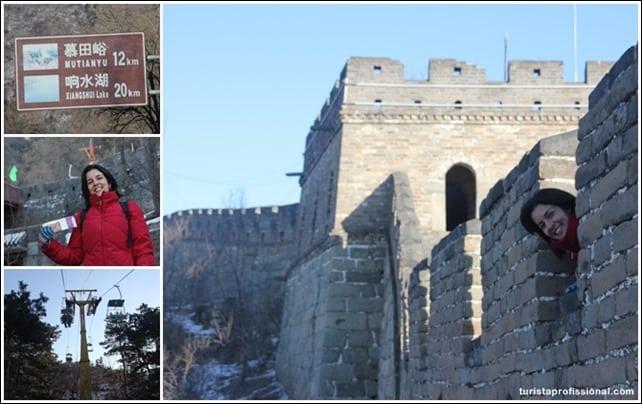 ComochegarnaMuralhadaChina - Como chegar na Muralha da China
