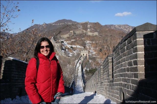 como chegar na muralha da China