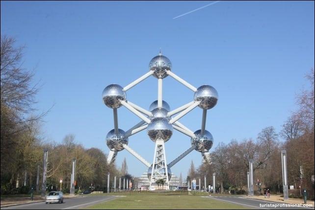 IMG 8028 - Atomium em Bruxelas, para os amantes de arquitetura e ciência
