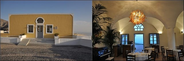 RestauranteSantorini - Lua de Mel na Grécia: Santorini, Rhodes e Atenas | parte 1
