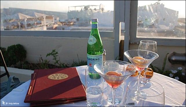 dica restaurante Santorini