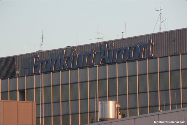 AeroportoFrankfurt - Como ir do aeroporto para o centro de Frankfurt
