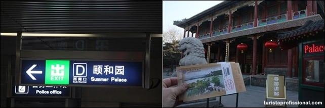 ComochegaraoPalciodeVero - Visitando o Palácio de Verão em Pequim