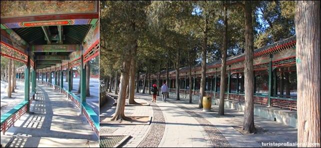 CorredorLong - Visitando o Palácio de Verão em Pequim