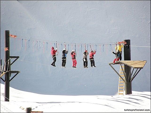 como chegar ao vale nevado