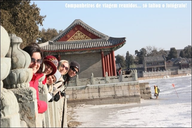LagoKunmingChina - Visitando o Palácio de Verão em Pequim
