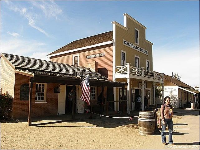 SanDiego - Old Town San Diego - a Velha Califórnia