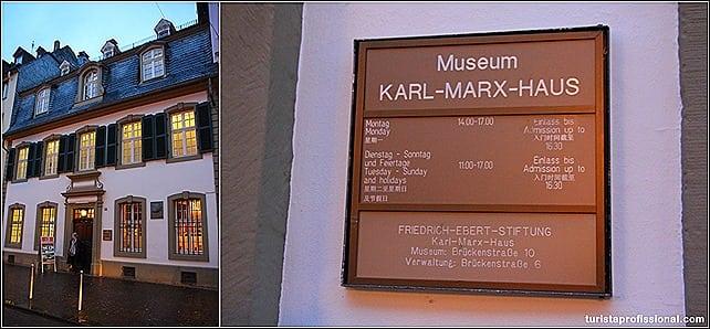 onde Marx nasceu