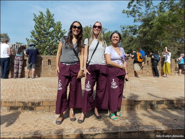 o que vestir no Templo dos Tigres