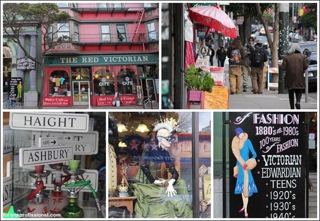 HaightAshburySanFrancisco - Haight Ashbury e Golden Gate Park: a área mais alternativa de San Francisco