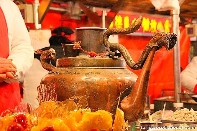 Pequim China 21 - O que fazer e o que comer em Pequim? Escorpião, lacraia, besouro?
