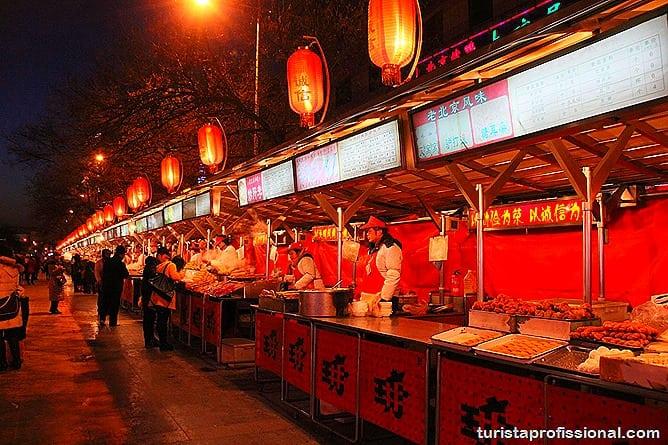 Pequim China 26 - O que fazer e o que comer em Pequim? Escorpião, lacraia, besouro?