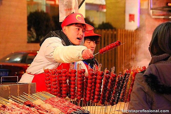 Pequim China 28 - O que fazer e o que comer em Pequim? Escorpião, lacraia, besouro?