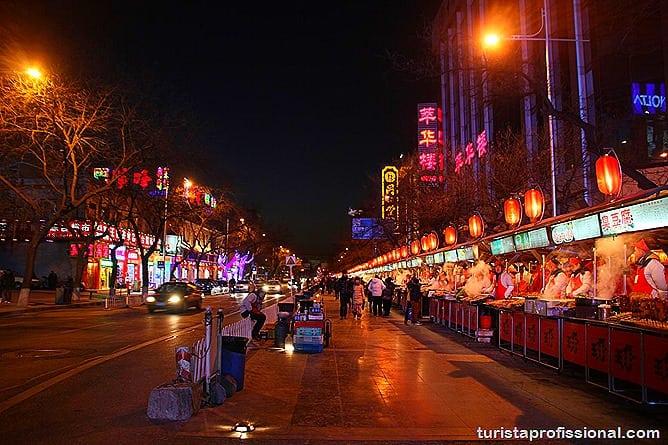 Pequim China 33 - O que fazer e o que comer em Pequim? Escorpião, lacraia, besouro?