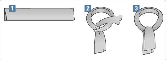 anudarbufandacrucesimple - Cachecol: 7 maneiras de usar