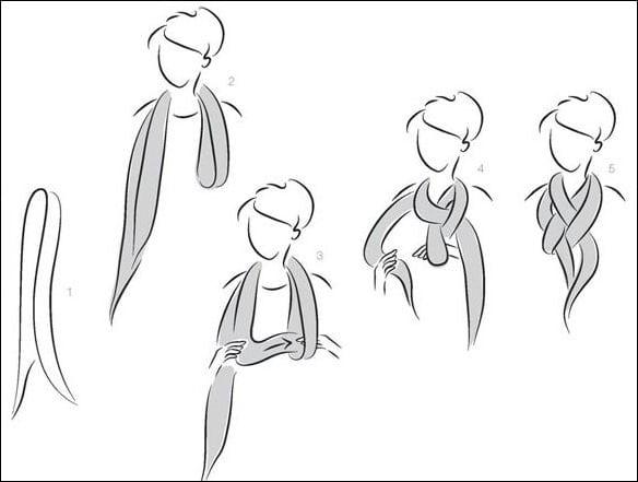 n - Cachecol: 7 maneiras de usar