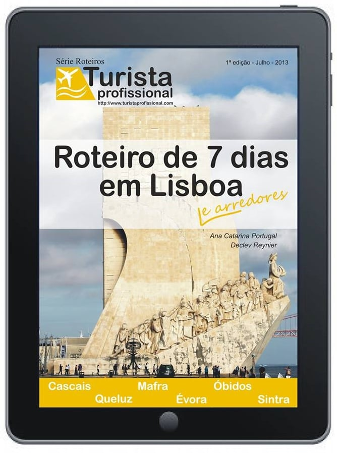 Capa Lisboa - Roteiro de 7 dias em Lisboa e arredores