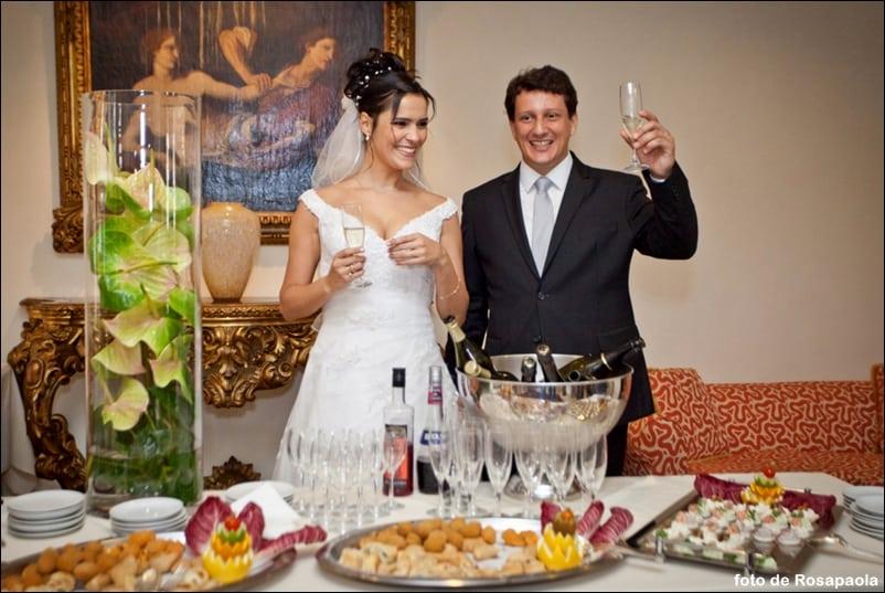 festa de casamento na Itália