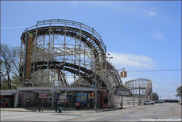 Ciclone Coney Island - O que fazer em Nova York com crianças