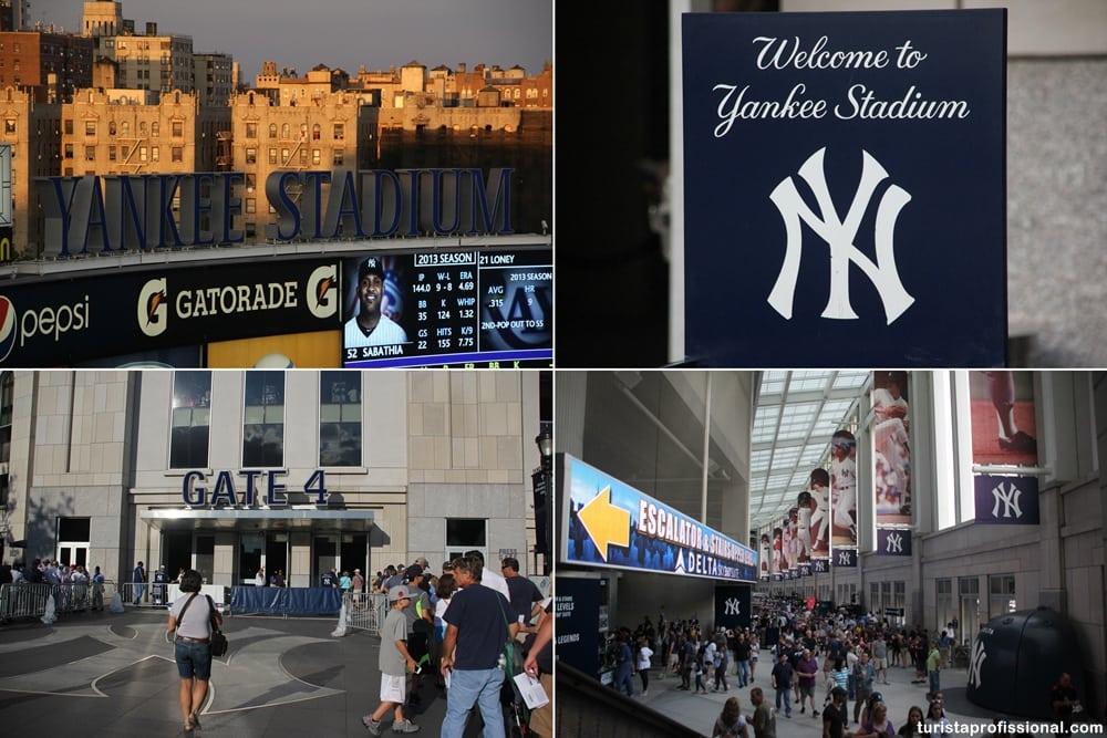 Yankee Stadium em Nova York: