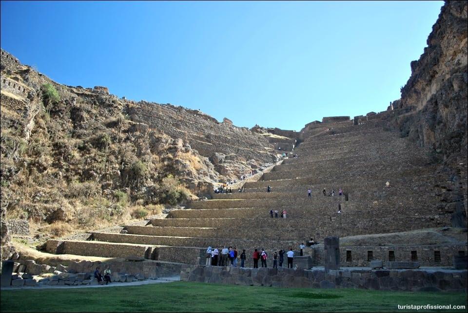O que fazer no Peru - Visitando Ollantaytambo no Vale Sagrado dos Incas