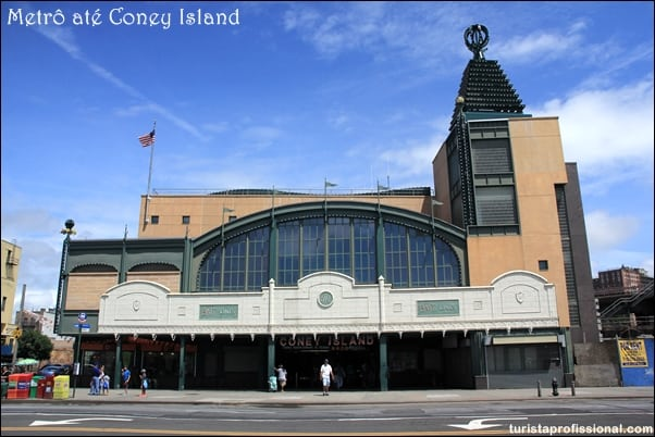 como chegar Coney Island