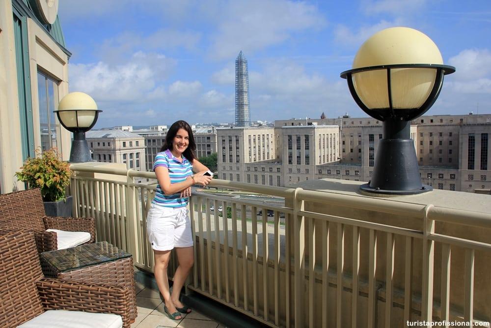 vista do Mandarin - Dica de hotel de Luxo em Washington DC: Mandarin Oriental