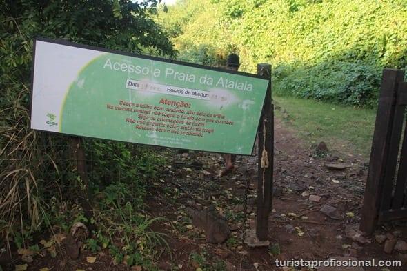 Trilha do Atalaia - Trilha do Atalaia: caminhada em Fernando de Noronha