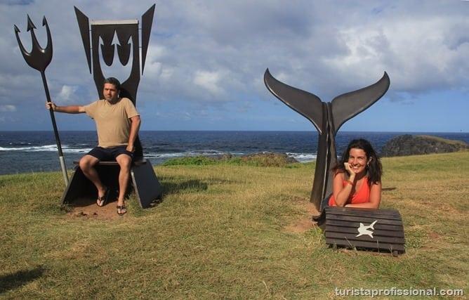 Trito e sereia - O que fazer em Fernando de Noronha - Ilha Tour