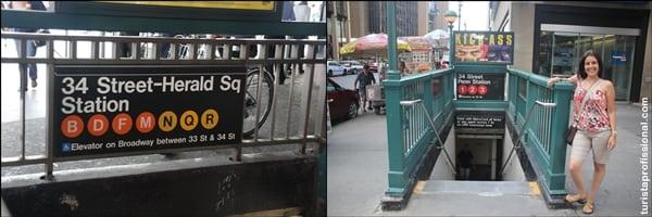 Compras em Nova York: 34th Street