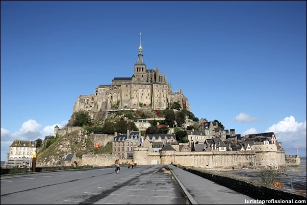 história de Saint Michel - Conhecendo o mágico Monte Saint-Michel