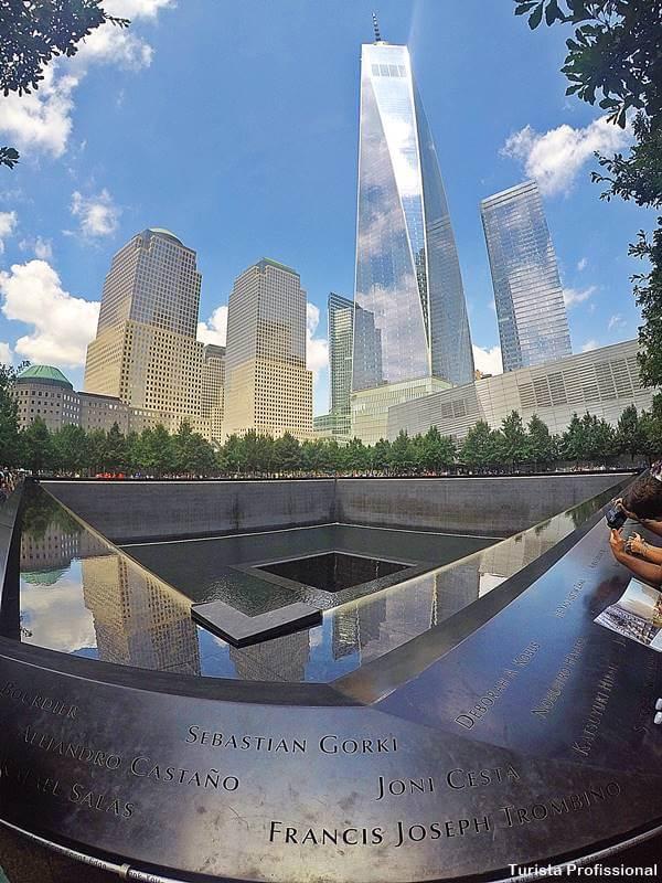 memorial 11 de setembro - Memorial 11 de Setembro em Nova York