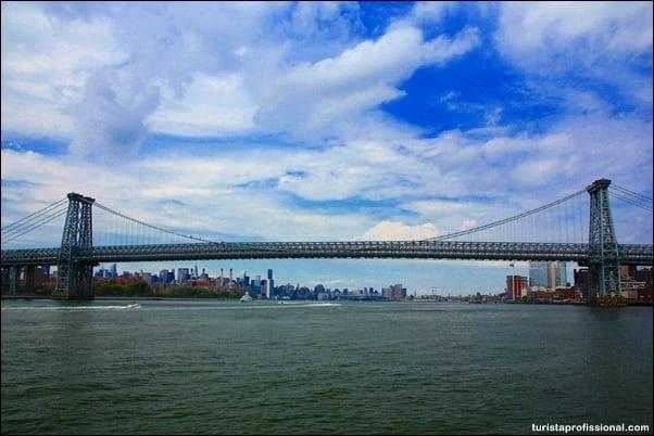passeio de barco Nova York - Ponte do Brooklyn: atravesse e descubra o que tem do outro lado